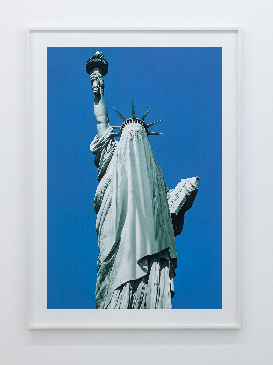 AES+F Islamic Project. New Liberty 1996 C-print on paper 120 x 80 cm (47 1/4 x 31 1/2 in) Edition of 5 + 3AP