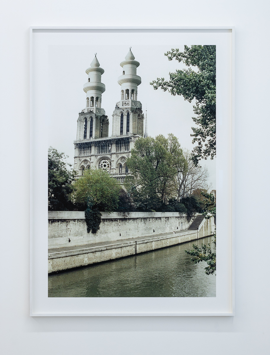 AES+F Islamic Project. Paris. Notre Dame 1996 C-print on paper 120 x 80 cm 136 x 96 cm (framed) (47 1/4 x 31 1/2 in) Edition 1 of 5 + 3AP