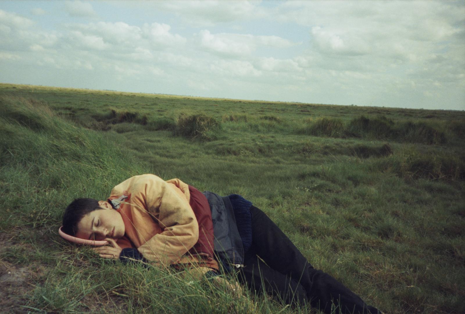 Vinca Petersen: Ali & Frisbee, 'No System', 1999