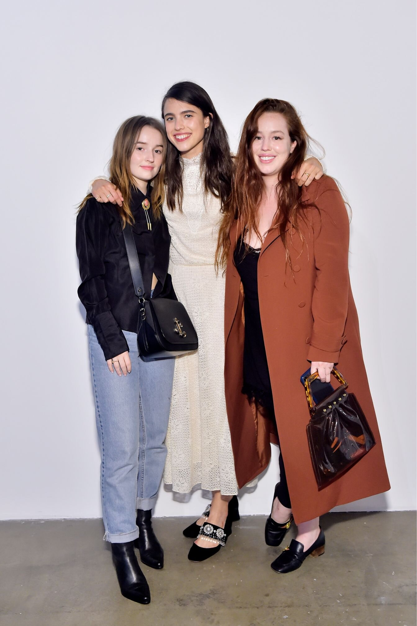 Kaitlyn Dever, Margaret Qualley and Lily Kershaw
