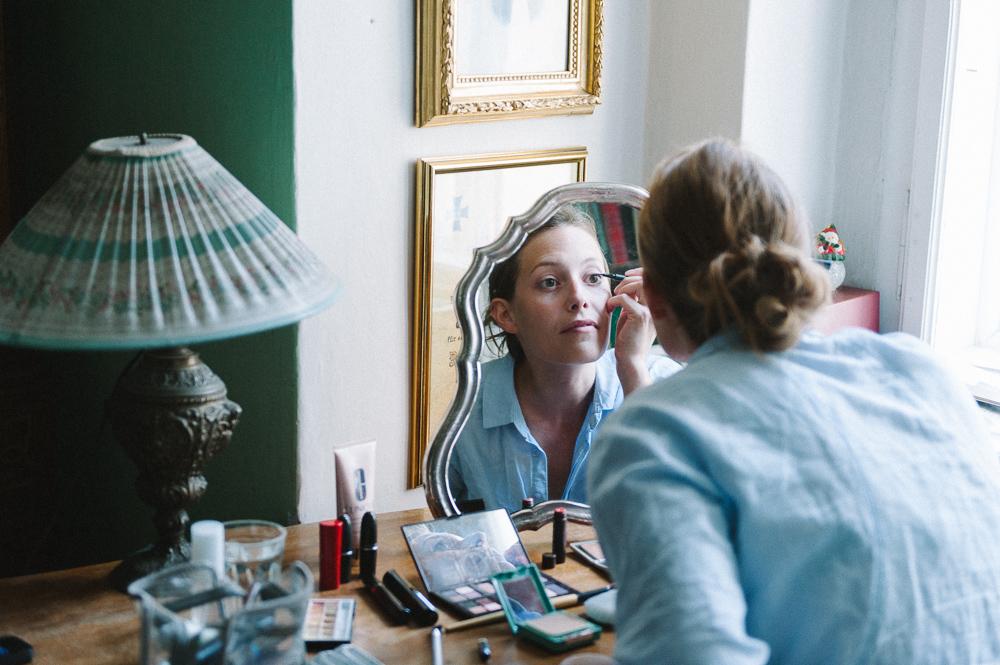 Braut make up selber machen