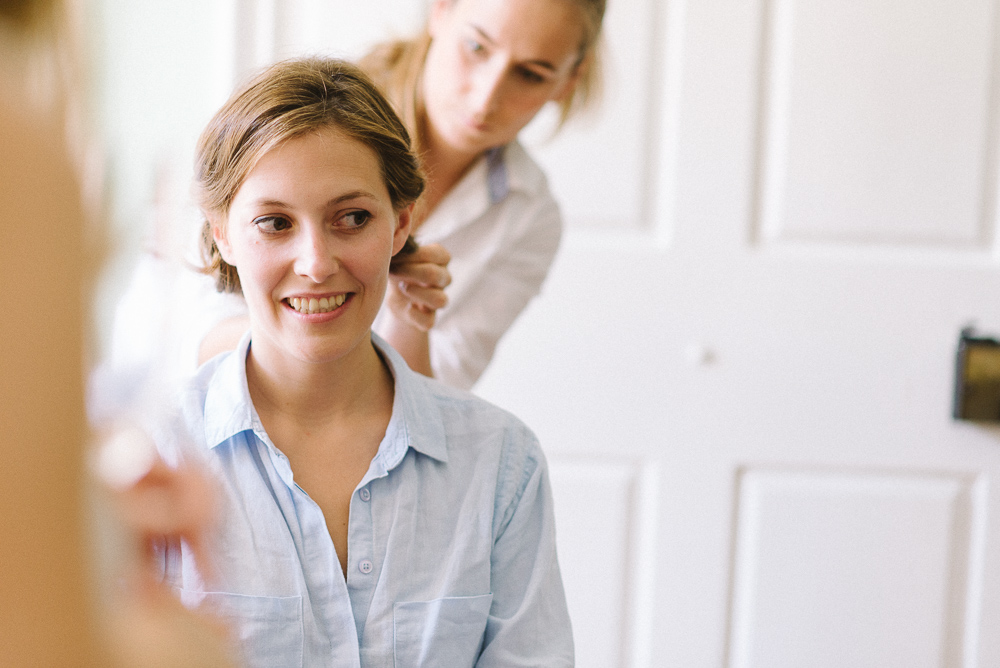Brautvorbereitung Haare