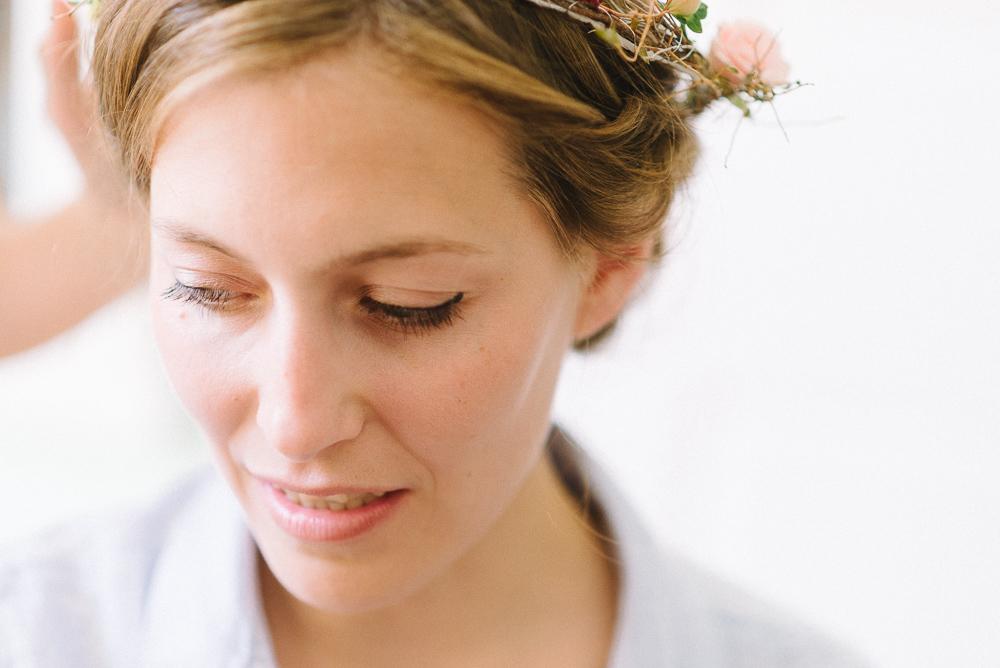 gorgeous eye make up for brides