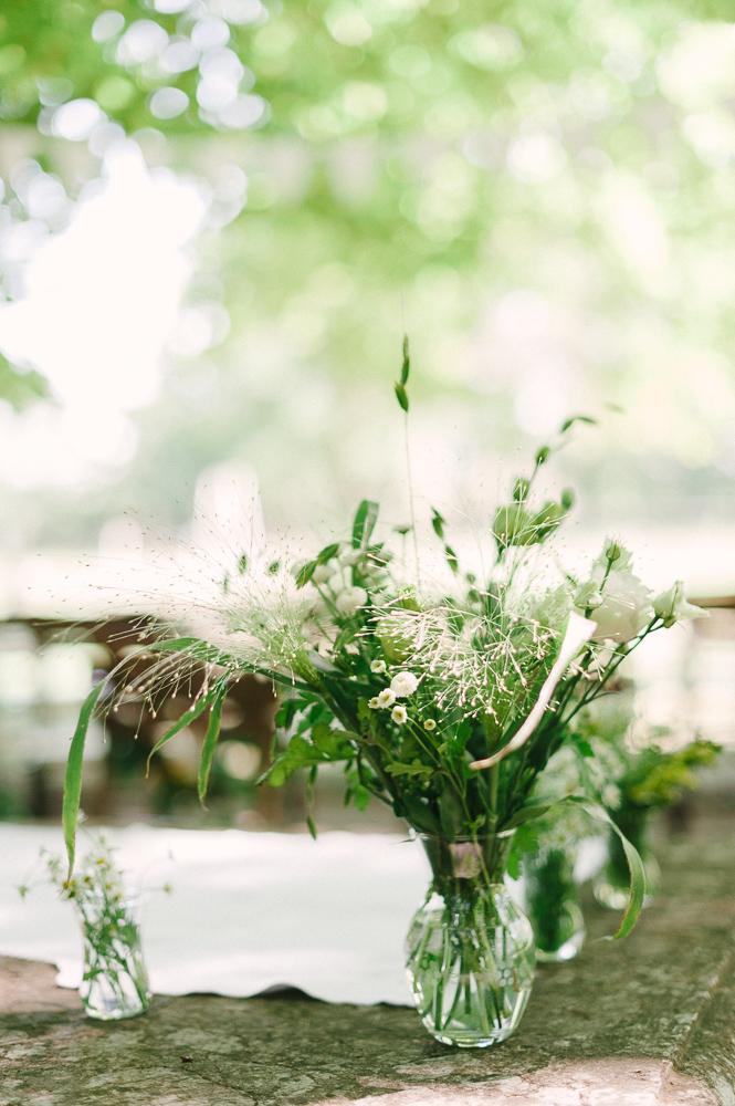 Gartenhochzeit Dekoration