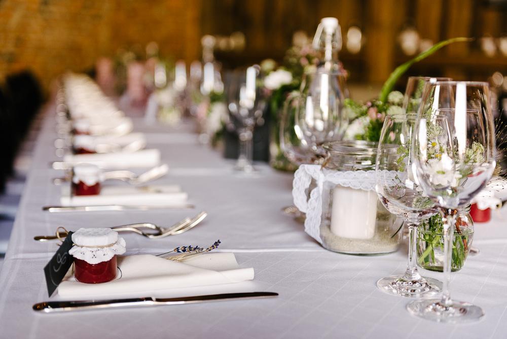 Hochzeitstafel Dekoration
