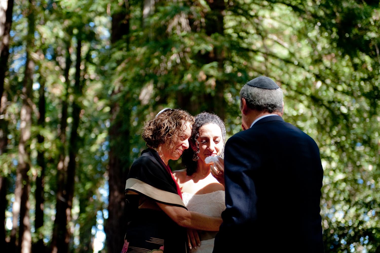 jüdische Hochzeitszeremonie Redwood