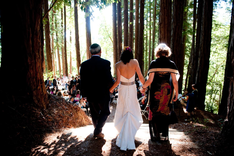 jüdische Hochzeit im Wald