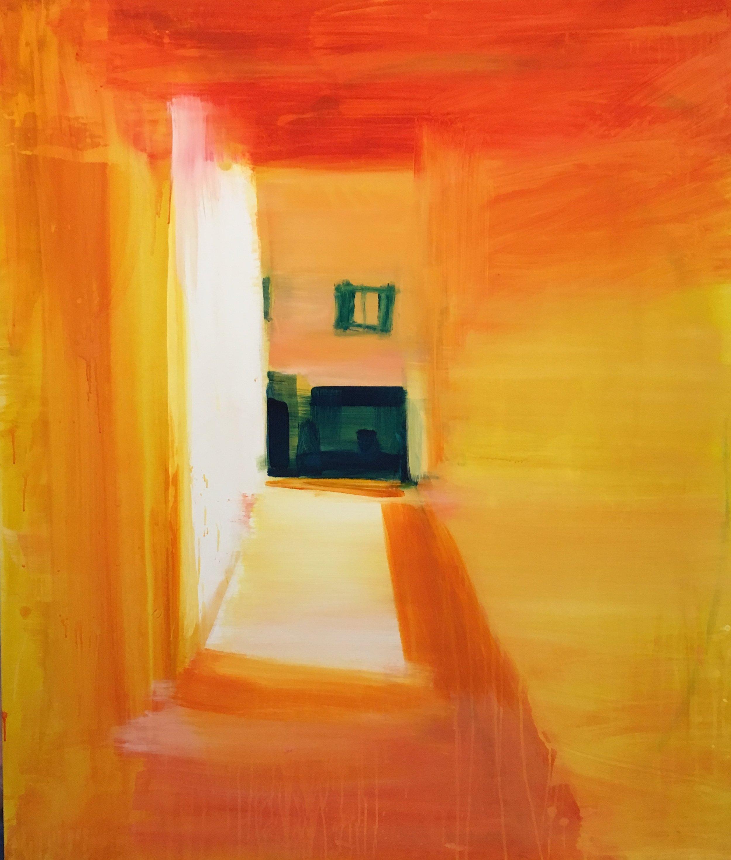 Venice, 2016 5 x 4ft oil on canvas