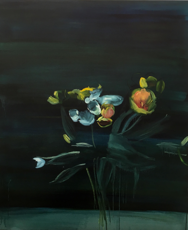 Ennui, 2016 oil on canvas 5ft x 4ft