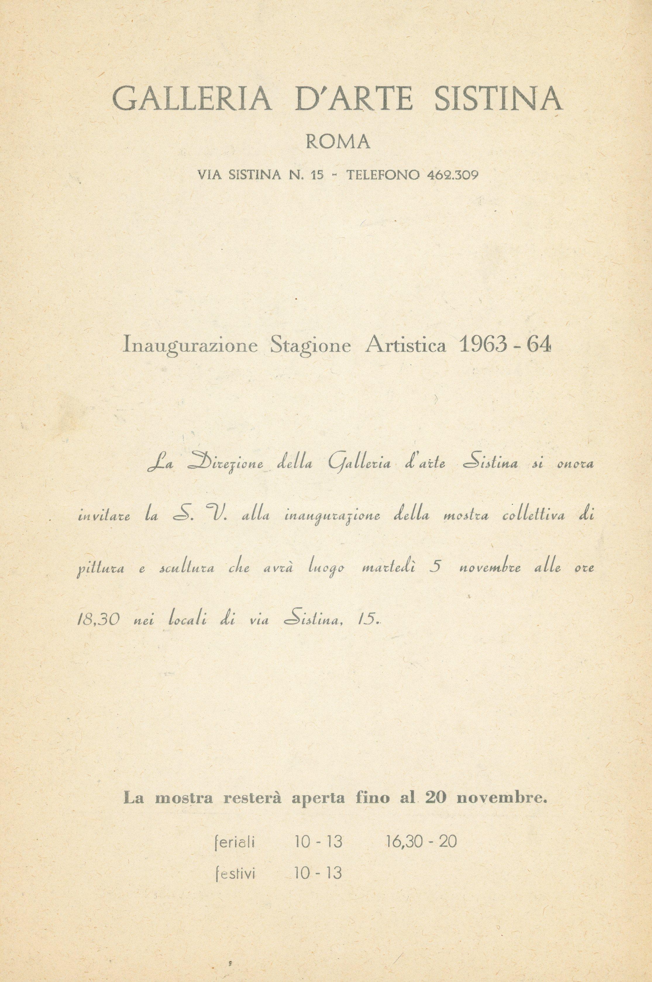 1964 - Galleria d Arte Sistina - Bruno Caruso_01.jpg