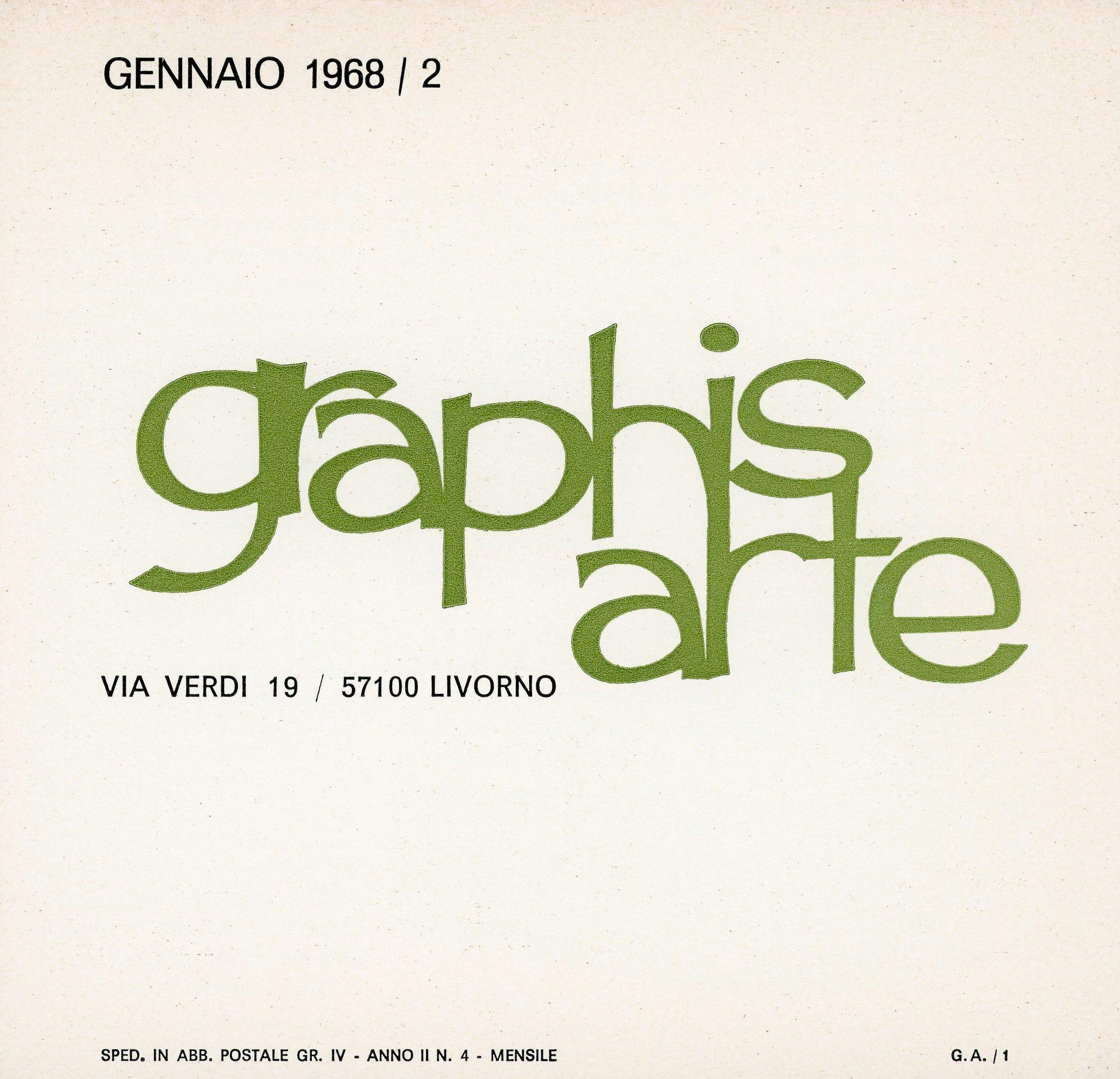 1968 — Livorno, Graphis Arte