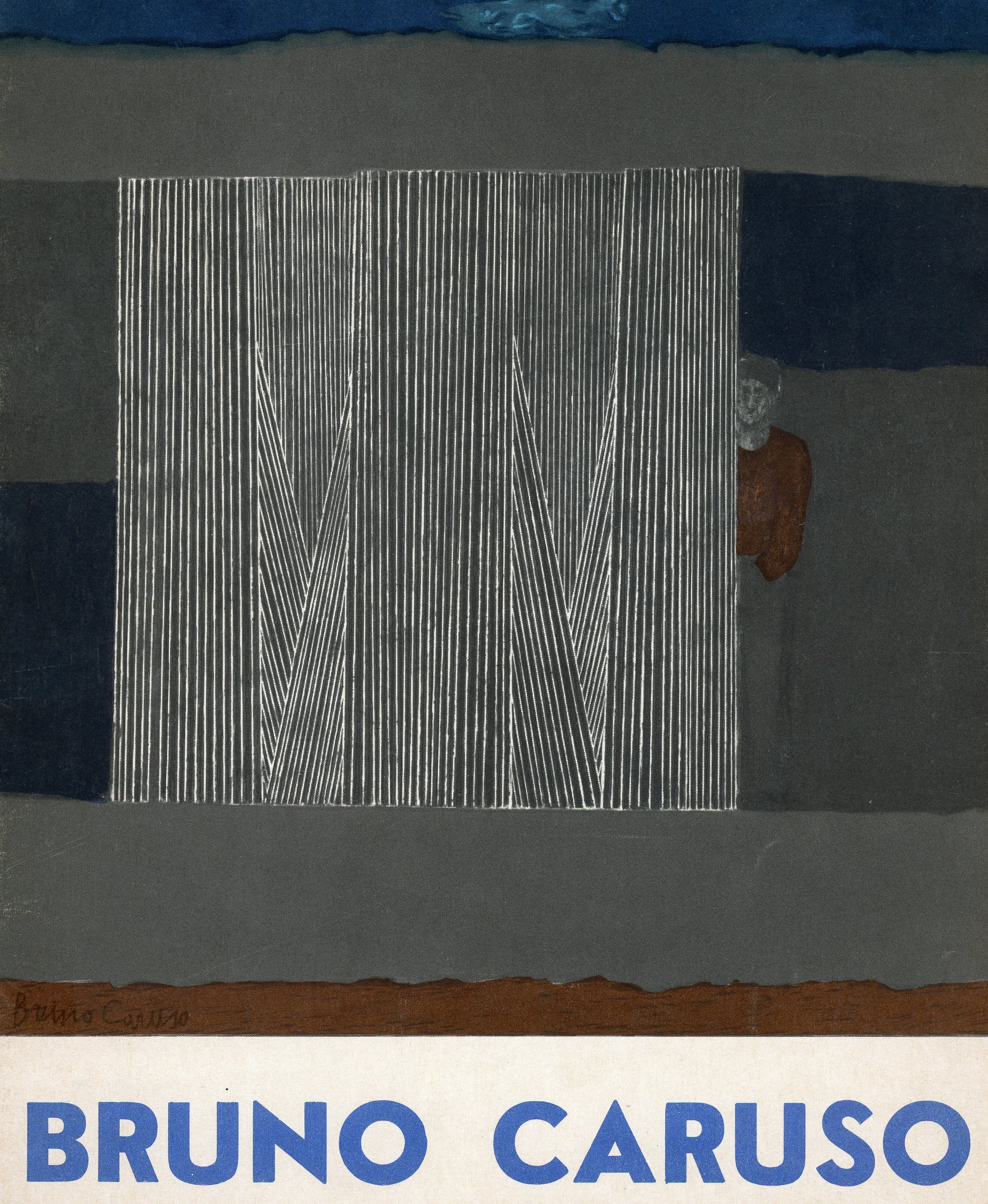 1959,    Paris , Galerie Rive Gauche: Bruno Caruso