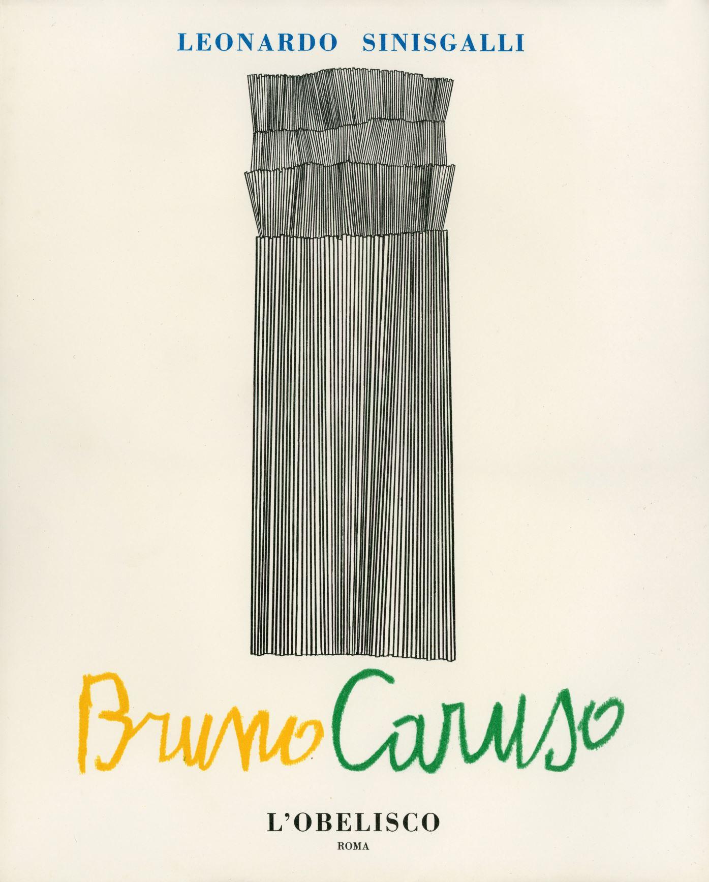 Leonardo Sinisgalli,  Bruno Caruso , 1954