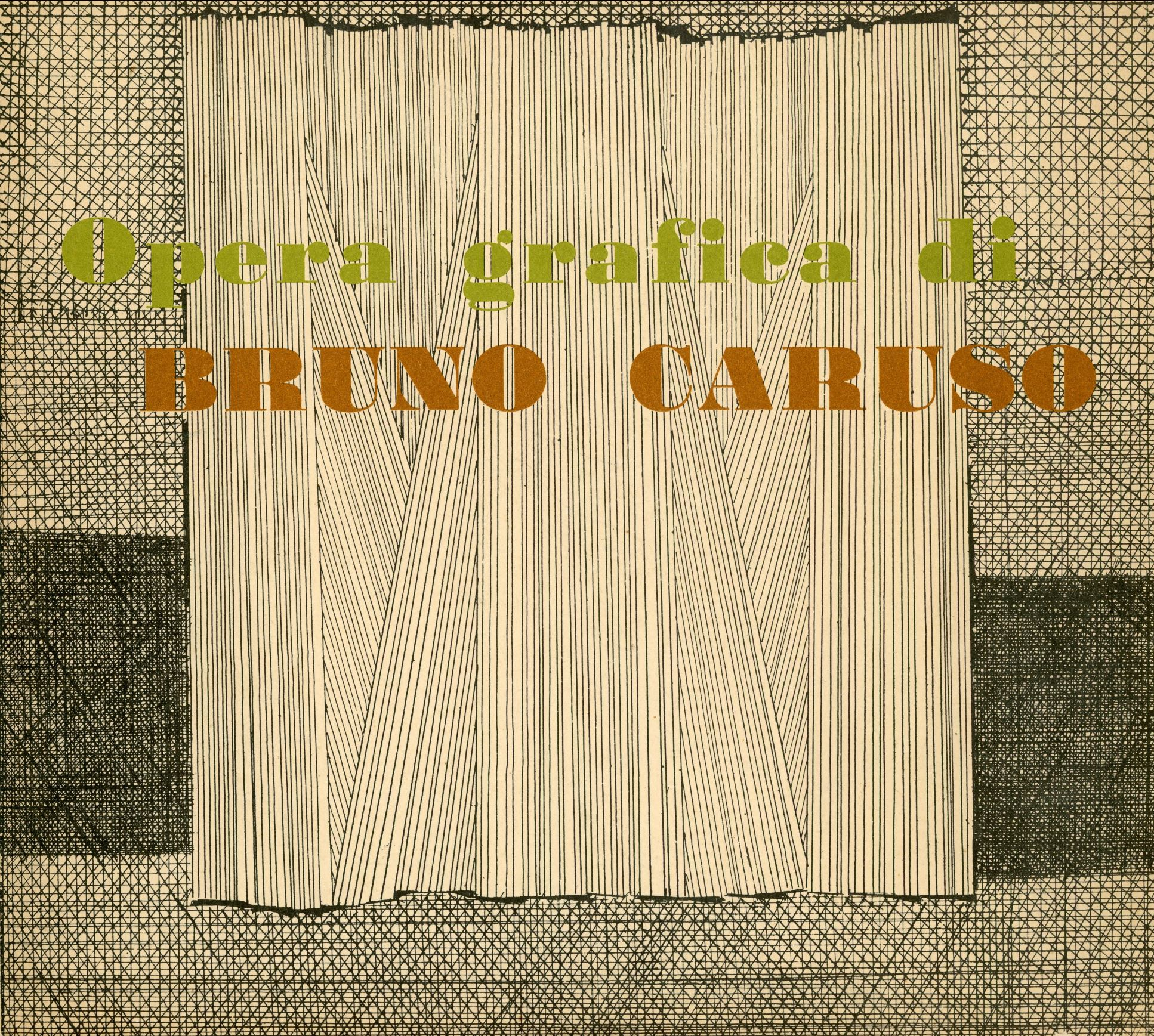 Peppe Fazio, Bruno Caruso's Graphic Work, 1958