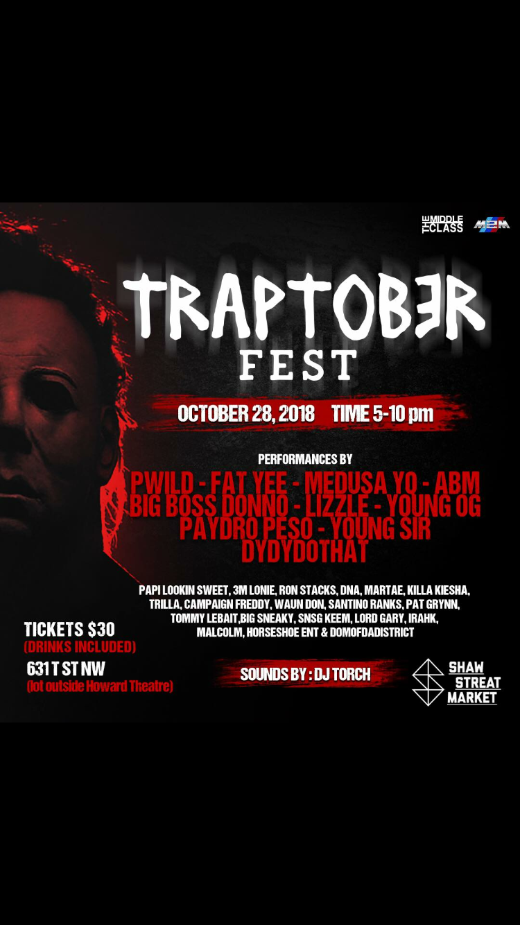 Traptober Fest Featuring Young Sir
