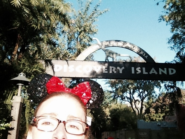 Going into Discovery Island!