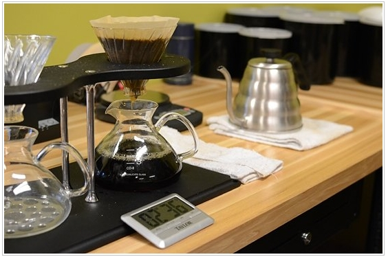 Brew timing during Pour-Over