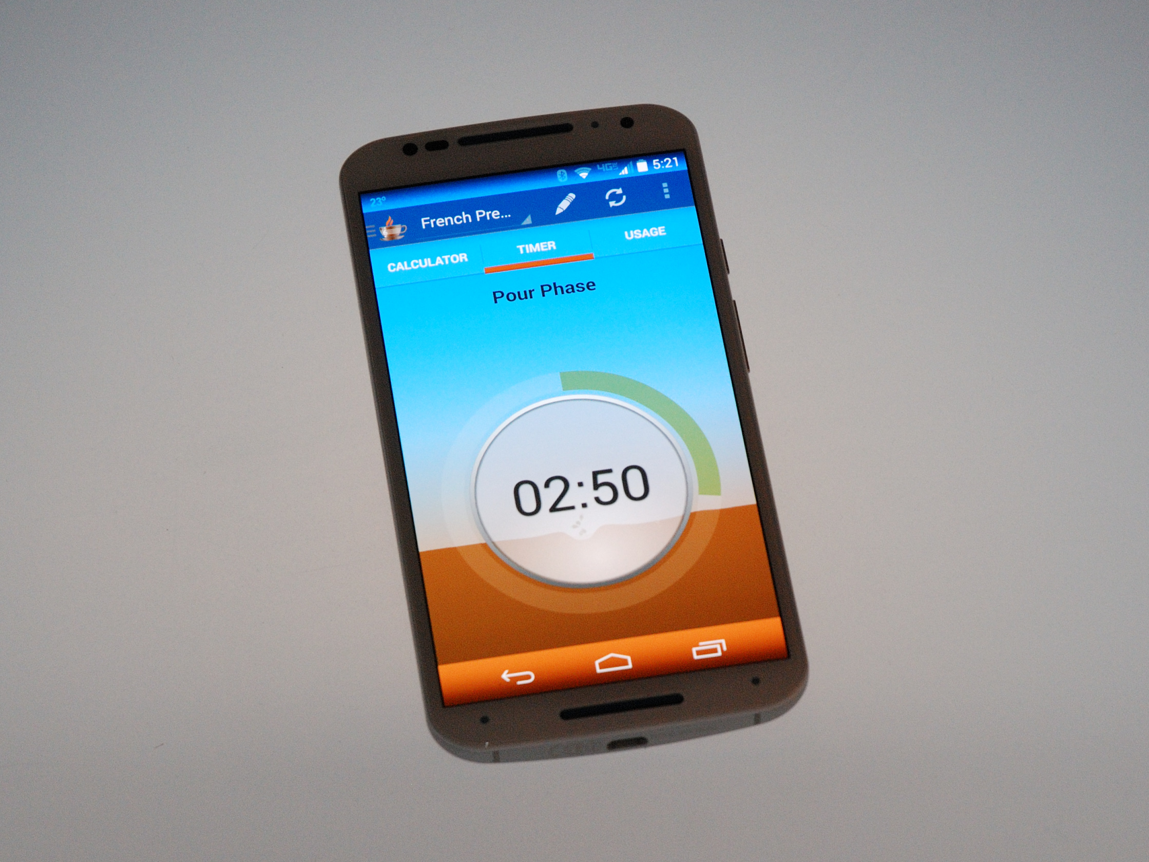 In-app Integrated Timer