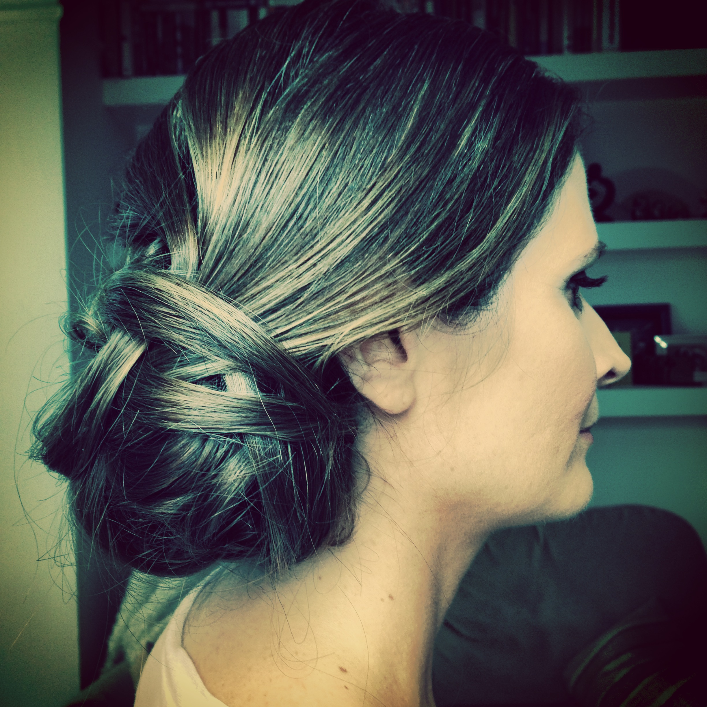 Bridal hair updo, wedding hair style, low chignon, boho, hampshire, london, surrey, berkshire, hair and makeup artist