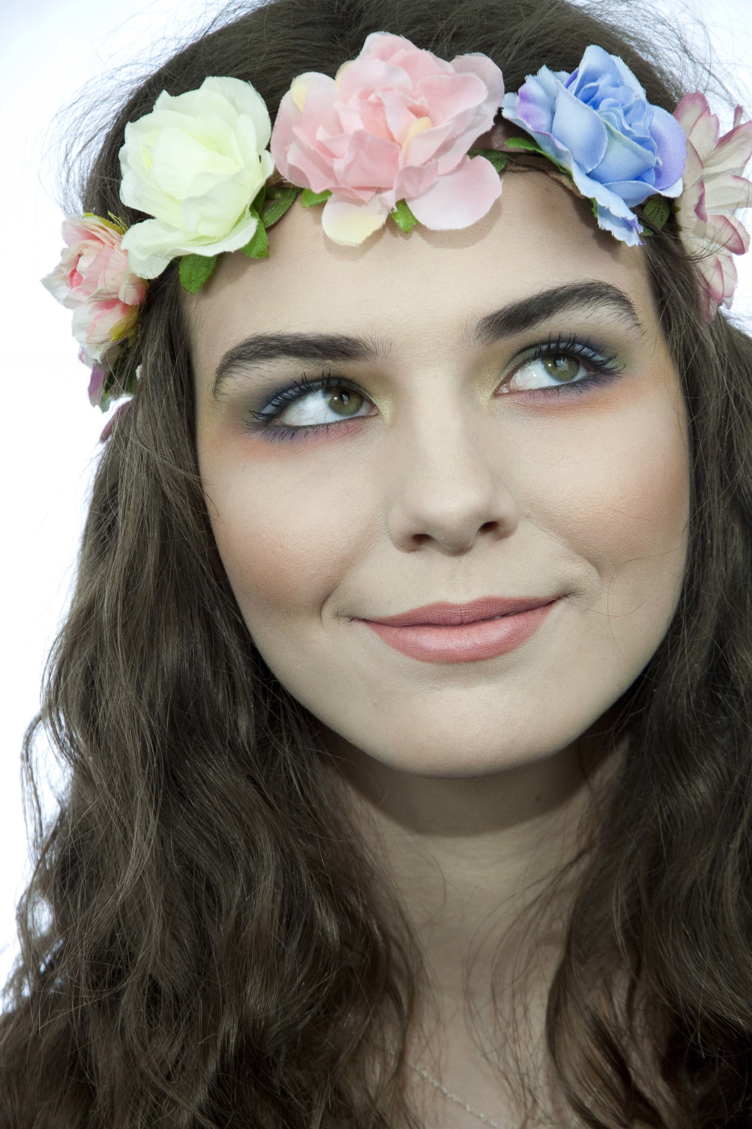 Floral, Pastel Festival, Summertime Makeup