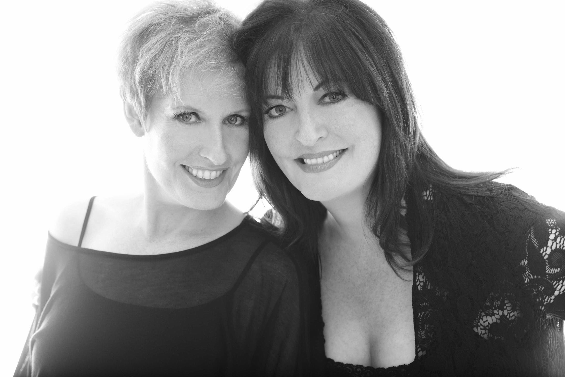 Liz Calloway and Anne Hampton Calloway