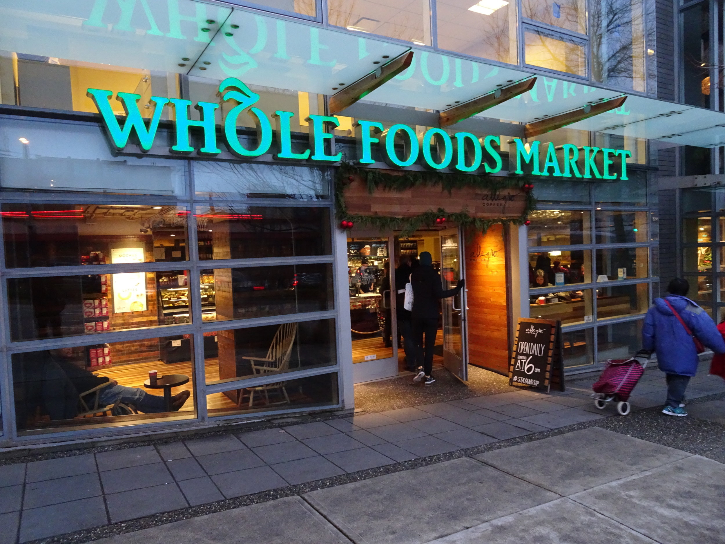 No town is truly progressive without a Whole Foods