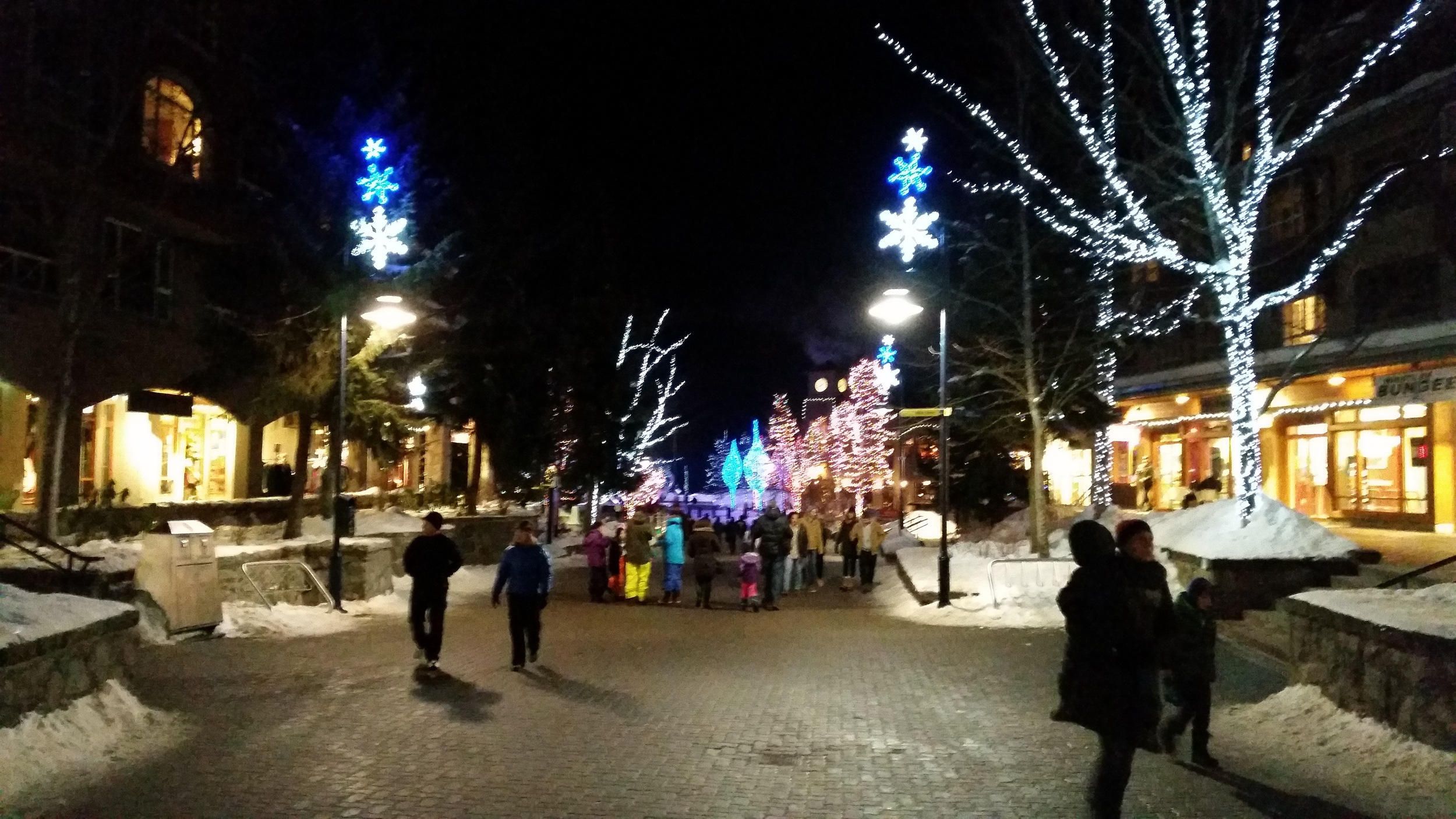 Christmas and bogans. I wasn't kidding, this is the gonorrhea capital of BC