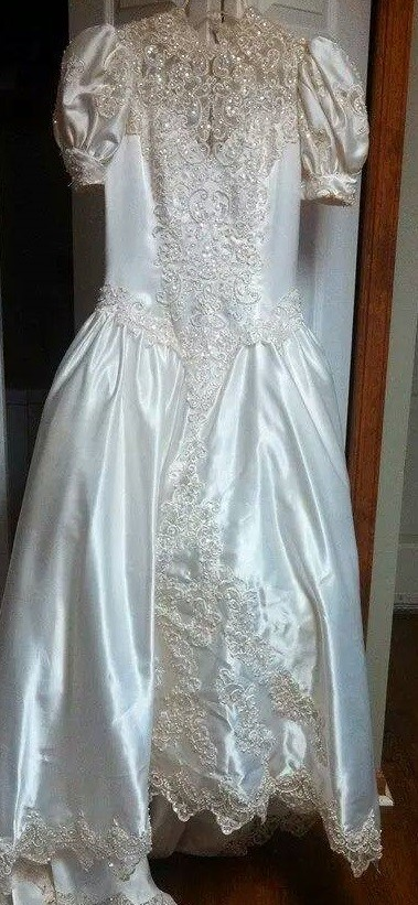 Our fist donated Wedding Dress