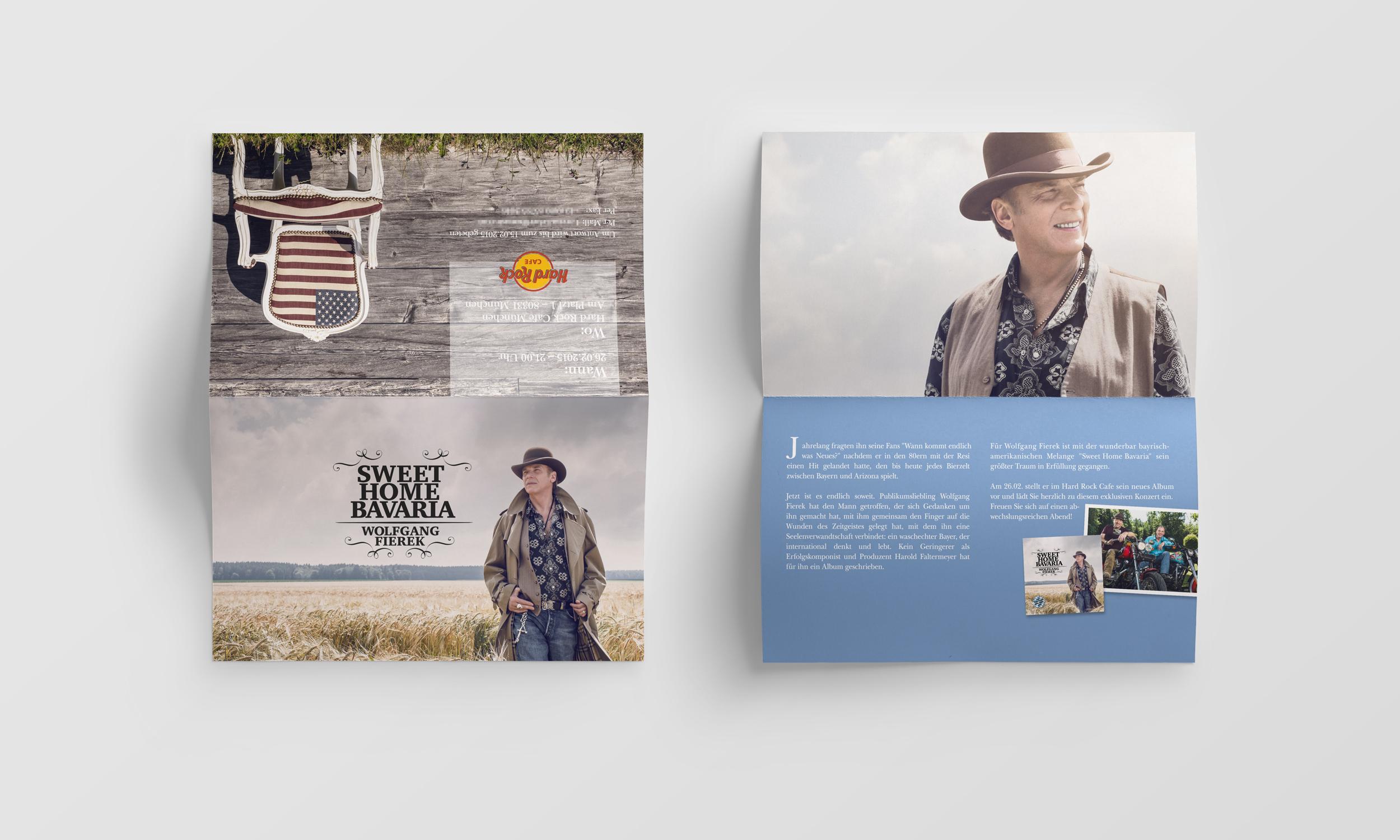 <strong> Wolfgang Fierek »SWEET HOME BAVARIA« </strong> | CD