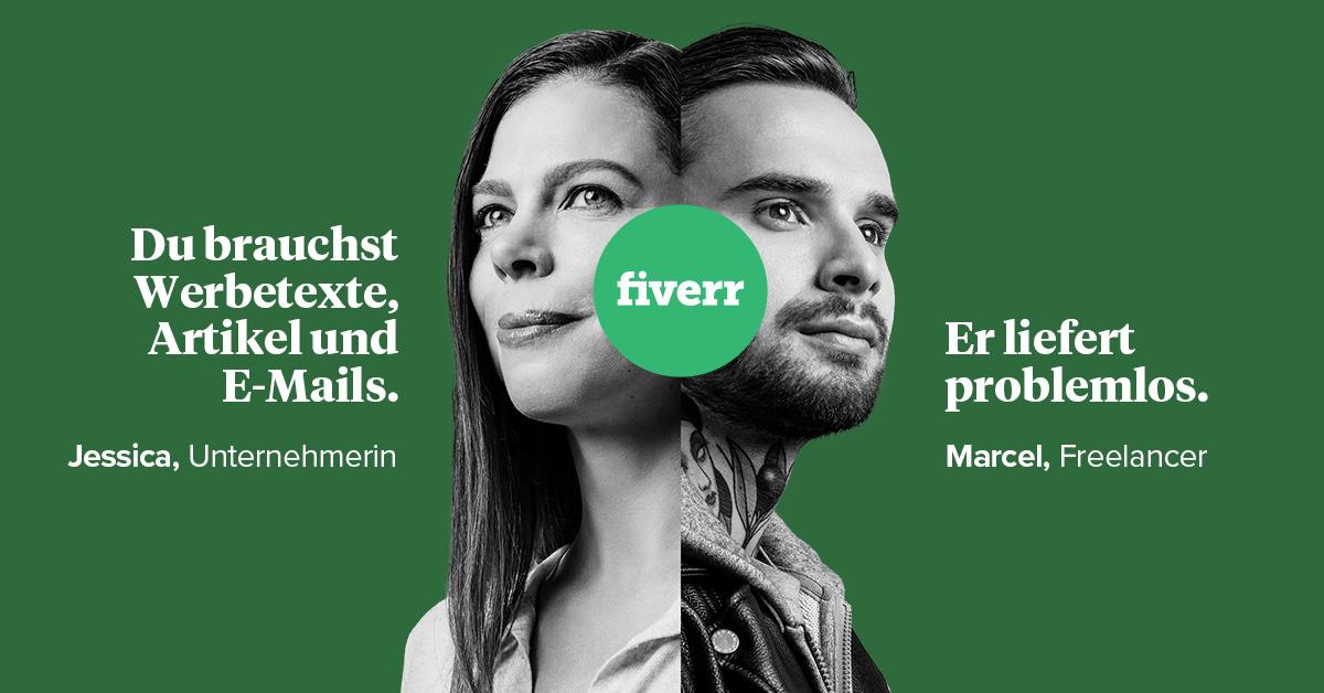 Fiverr DE  summer campaign 2019