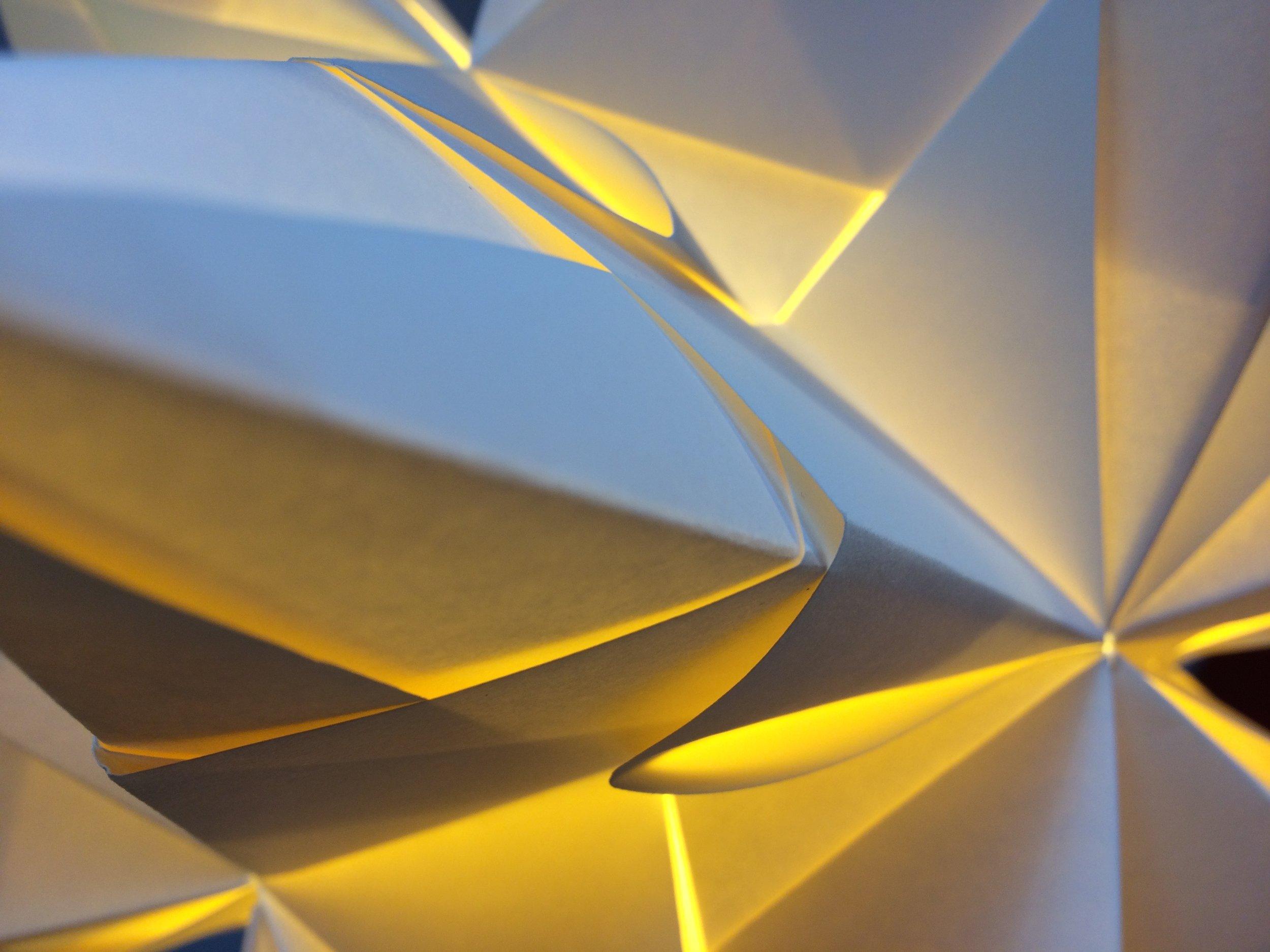 VITRINES ET DÉCO - Origami à communiquer