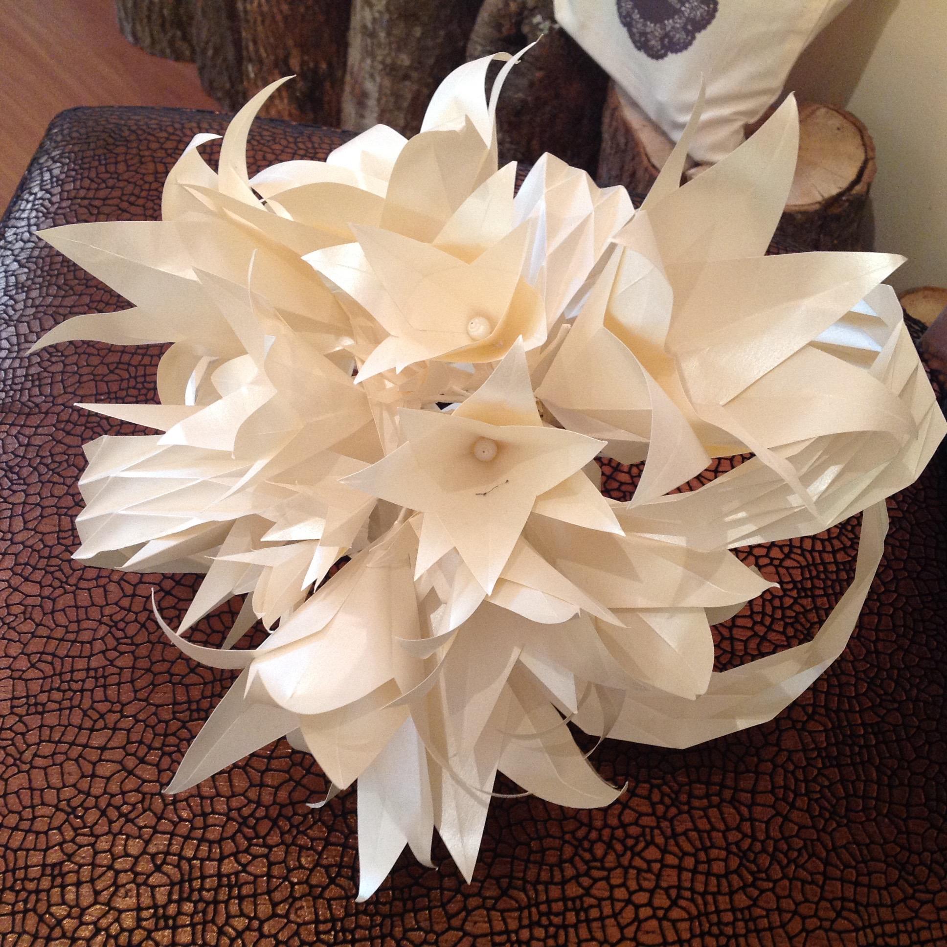 Bouquet nuptial      Model: Luisa Canovi