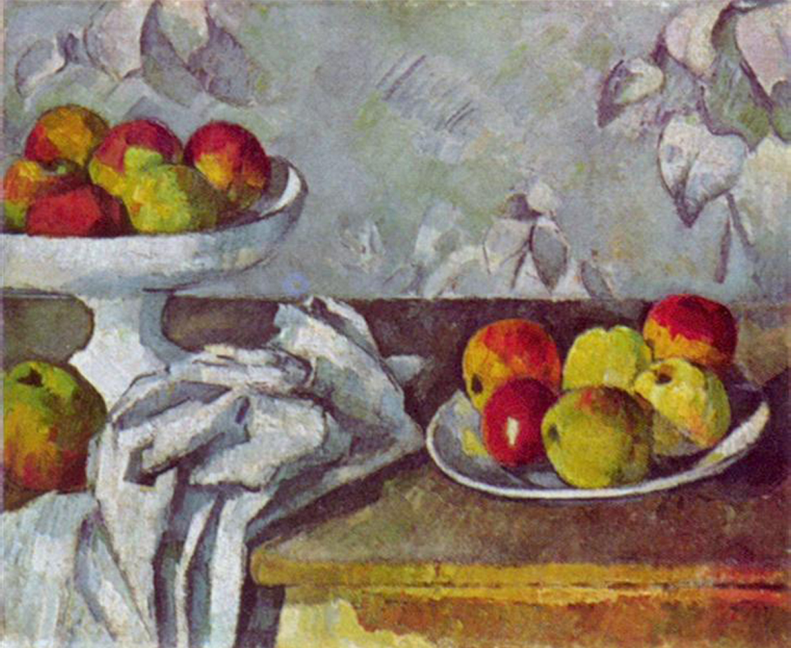 Paul Cézanne    Still Life with Apples and Fruit Bowl