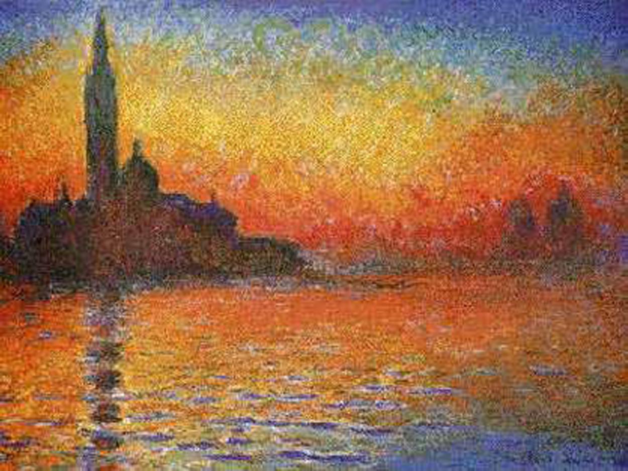 Claude Monet   San Giorgio Maggiore at Dusk