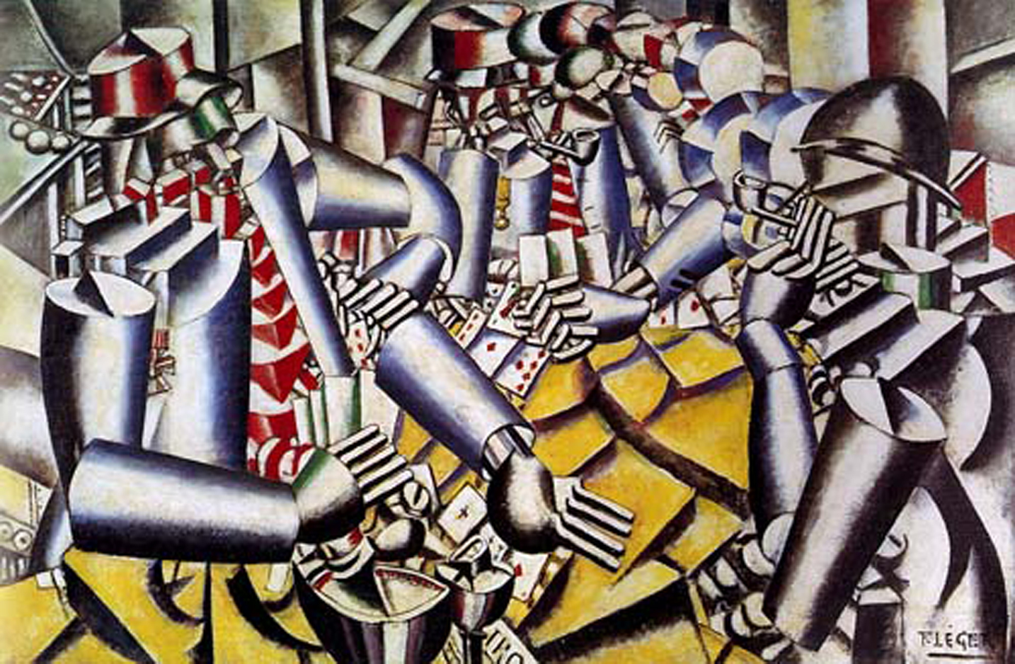Fernand Leger    The Card Game