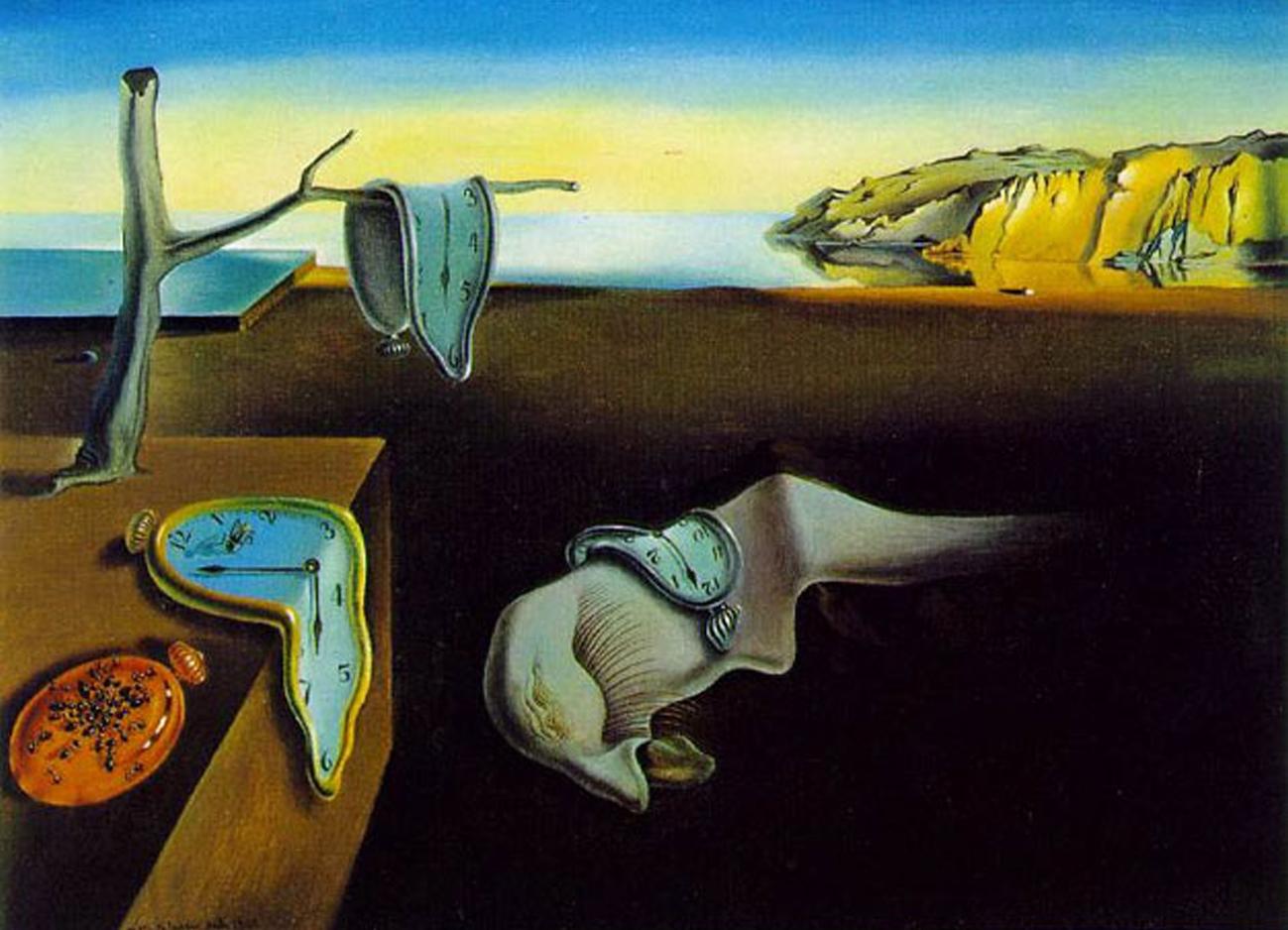 Salvador Dali    The Persistence of Memory