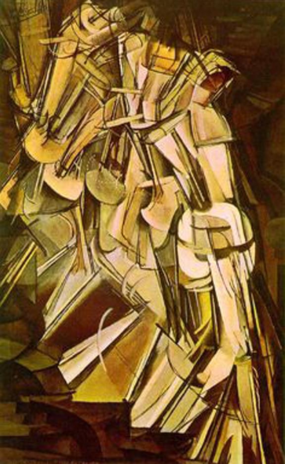 Marcel Duchamp    Nude Descending a Staircase