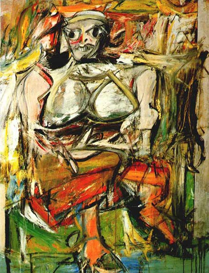 Willem de Kooning    Woman I