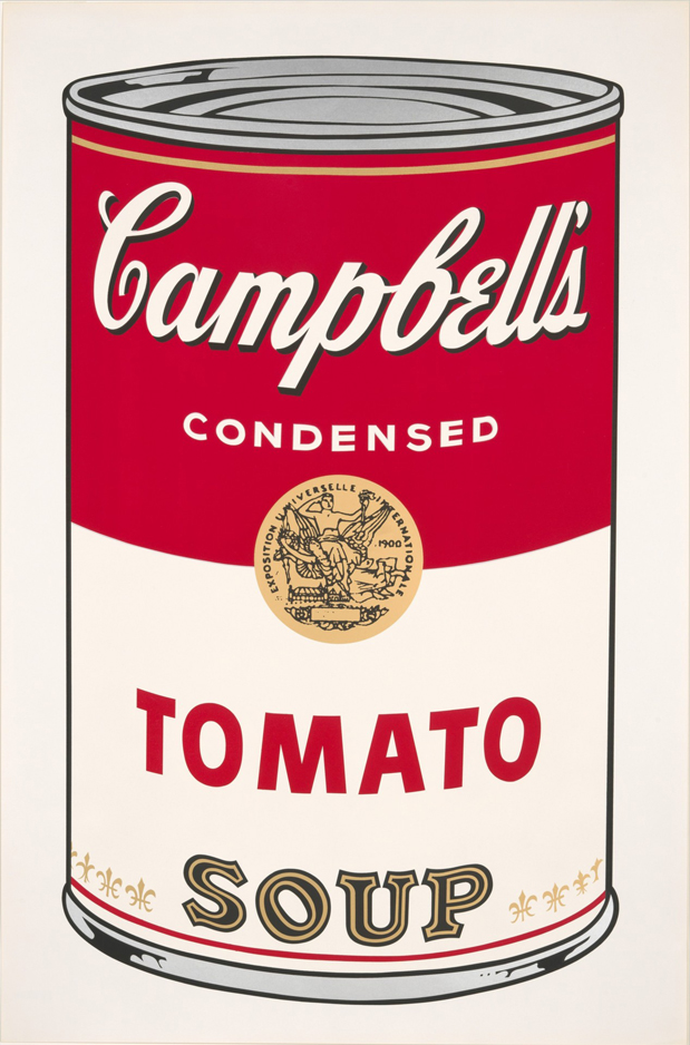Andy Warhol     Campbell Soup Can (Tomato)