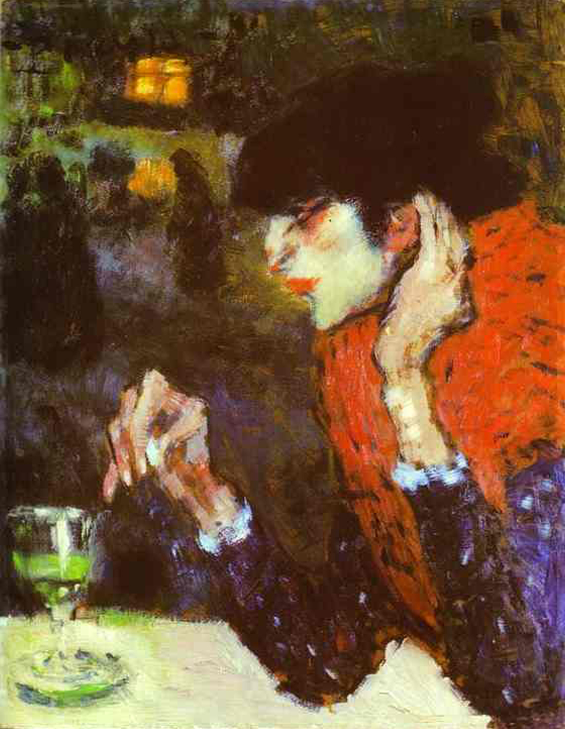 1901    The Absinthe Drinker