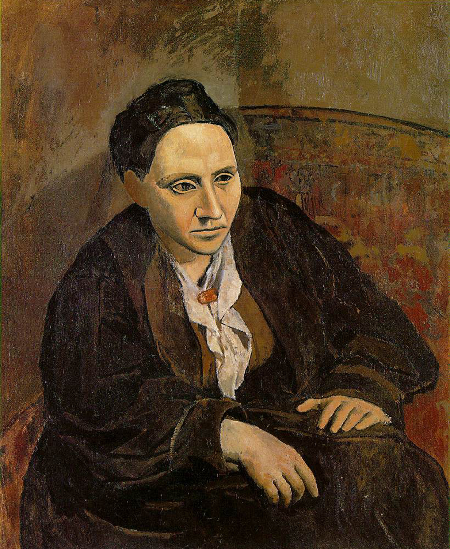 1906   Portrait of Gertrude Stein