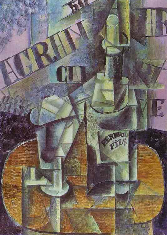1912  Bottle of Pernod