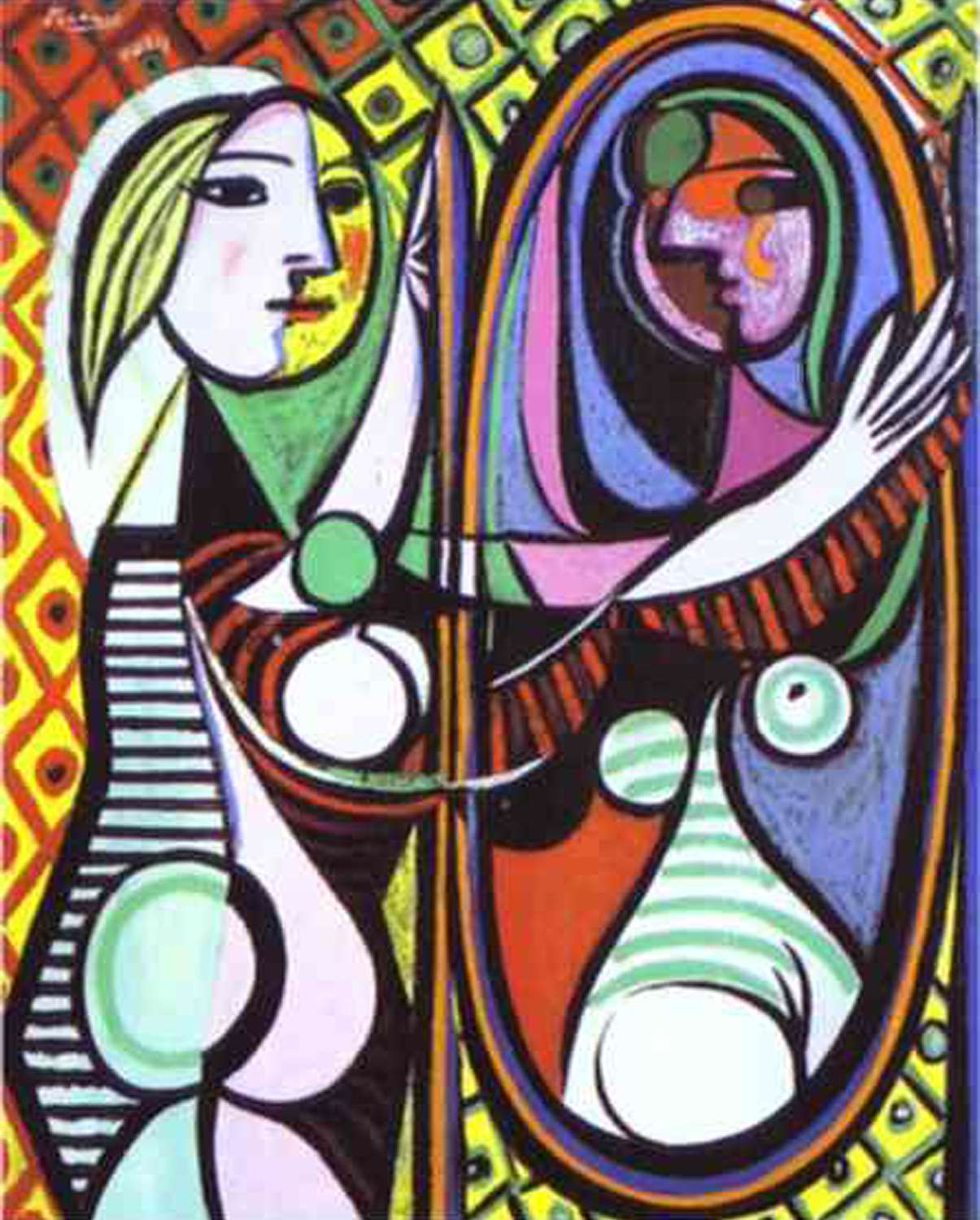 1932   Girl Before a Mirror