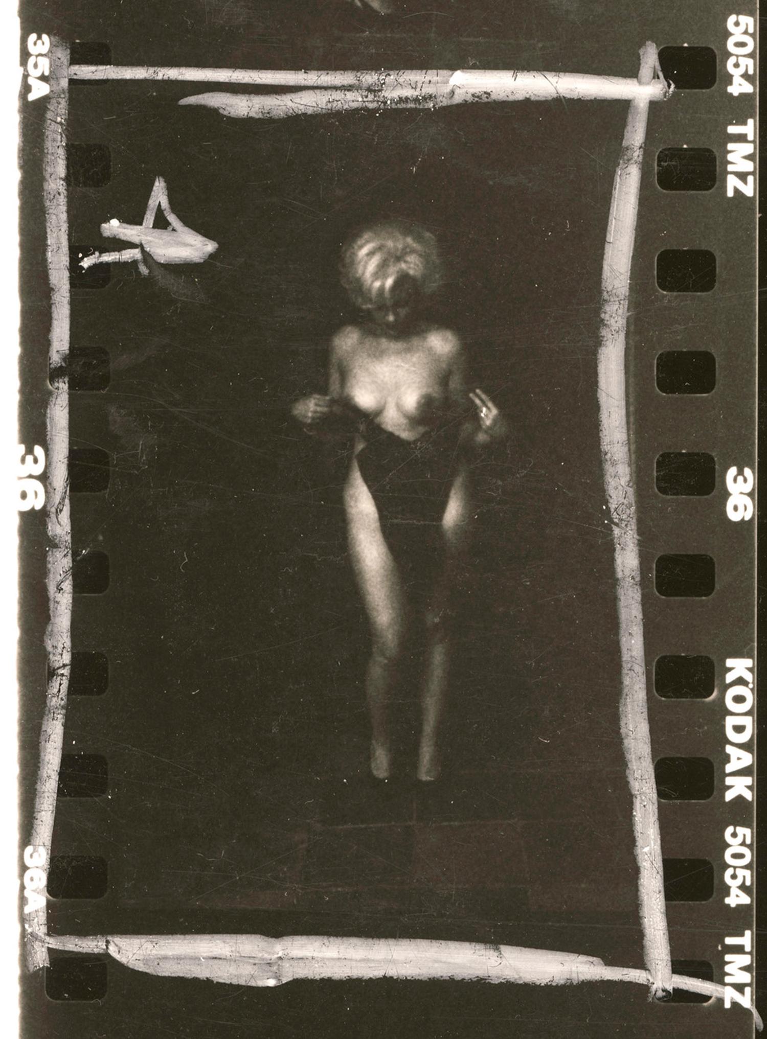 Marilyn Undressing