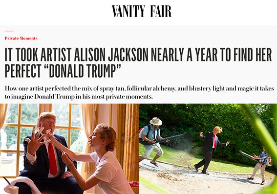 Copy of Vanity Fair - Alison Jackson