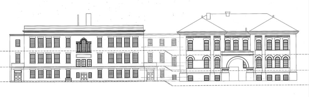 Preliminary design for the Buchanan School buildings