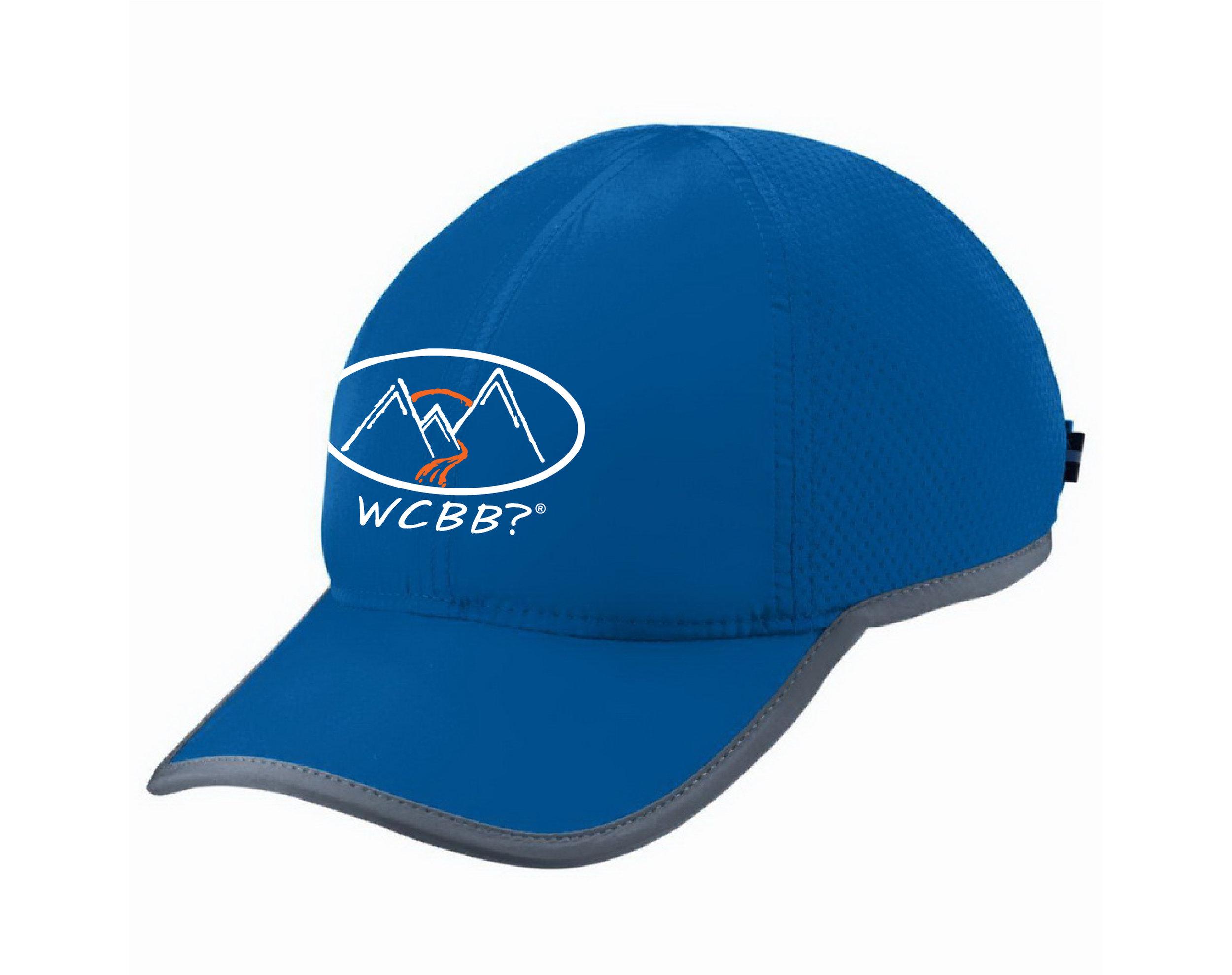 WCBB? Light Weight Running Hat