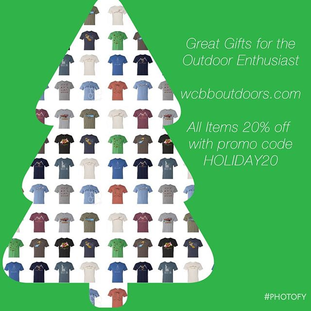 Last Minute Holiday Shopping Done... What Could Be Better!  #christmas #uniquechristmasgift #christmasgiftideas #lastminutegifts #outdoorenthusiast #giftsfortheoutdoorlover #outdoorlife #getoutdoors #whatcouldbebetter #lastminuteshopping #20percentoff #deals #tshirtlovers