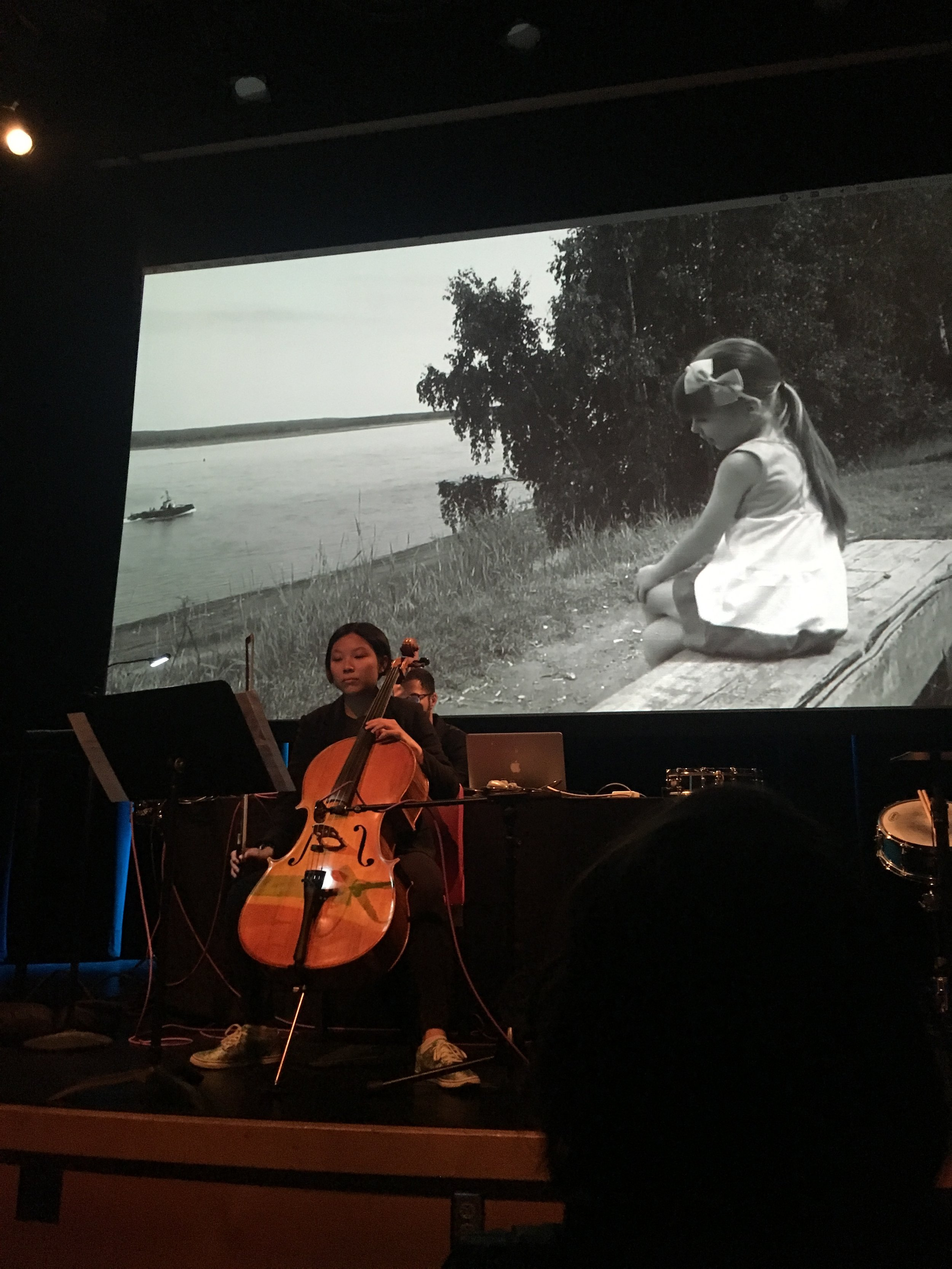 Kamran Adib's  Old Man River  with Stephanie Li on cello