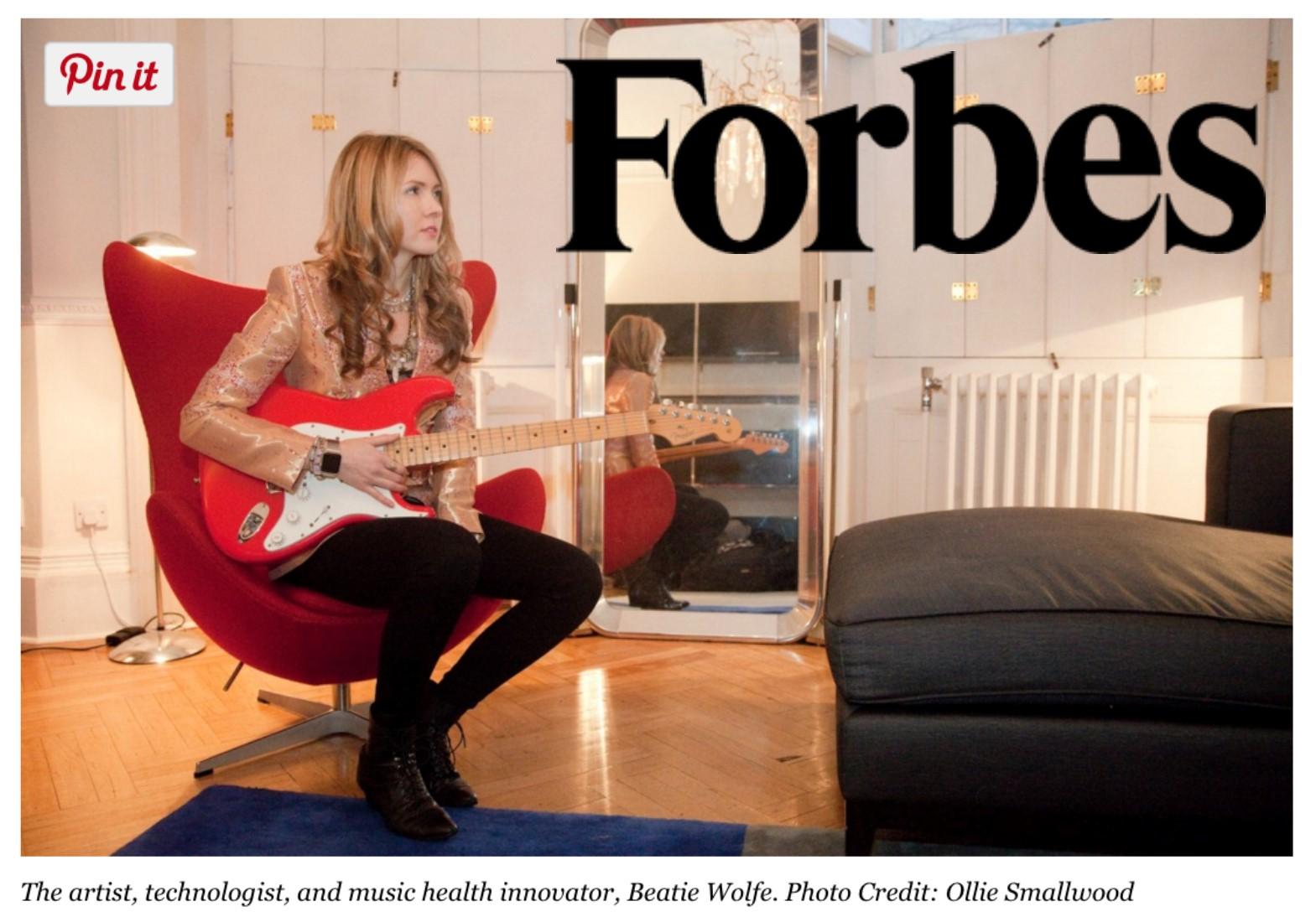 Beatie Wolfe in Forbes